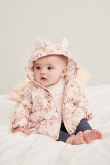 Next Floral Padded Jacket (0mths-2yrs)