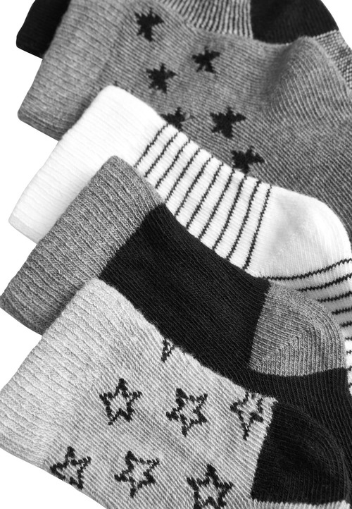 Next Star Socks Five Pack (Younger)