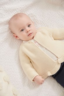 Next Frill Hem Cardigan (0mths-2yrs)