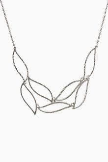 Next Stone Effect Sparkle Short Necklace