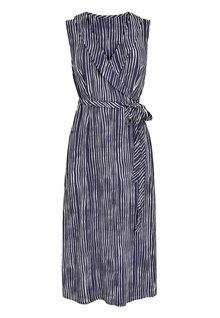 Next Sleeveless Wrap Dress- Tall