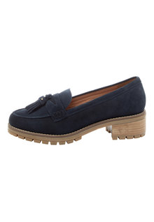 Next Forever Comfort Leather Chunky Sole Loafers