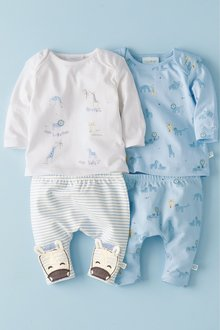 Next Animal T-Shirts Two Pack (0mths-2yrs)