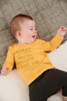 Next Mummy Slogan T-Shirt (0mths-2yrs)