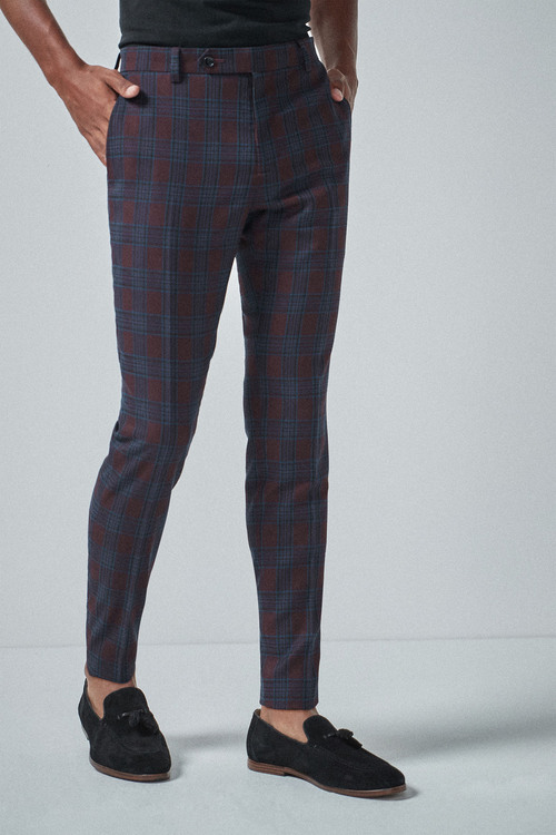 Next Check Suit: Trousers