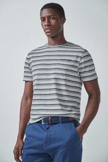 Next Fine Stripe T-Shirt