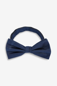 Next Plain Silk Bow Tie - 239636