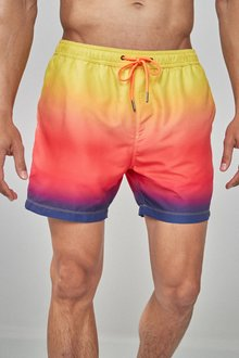 Next Ombre Print Swim Shorts