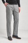 Next Textured Trousers- Regular Fit
