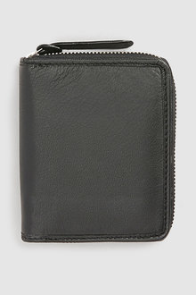 Next Leather Zip Around Bifold Wallet
