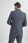 Next Textured Suit: Jacket- Tailored Fit