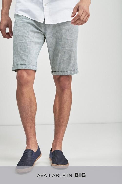 Next Textured Chino Shorts