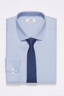 Next Tonic Shirt And Tie Set- Regular Fit Single Cuff