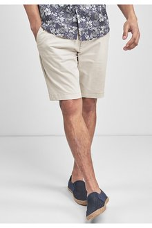 Next Regular Stretch Chino Shorts