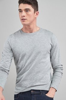 Next Long Sleeve Crew Neck T-Shirt - 239814