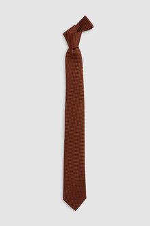 Next Signature Textured Tie-Slim