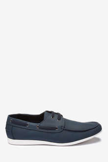 Next Textured Boat Shoe - 239818