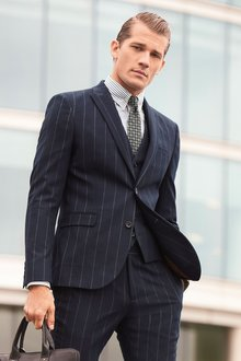 Next Stripe Suit: Jacket