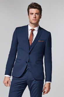 Next Stretch Tonic Suit: Jacket- Super Skinny Fit
