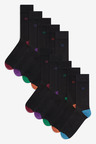 Next Cushion Sole Contrast Heel And Toe Socks Ten Pack