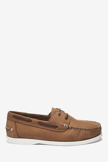 Next Leather Boat Shoe - 239863