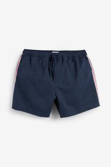 Next Signature Side Stripe Swim Shorts