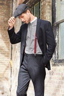 Next Stripe Suit: Trousers
