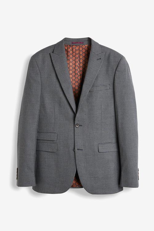 Next Check Suit: Jacket- Slim Fit