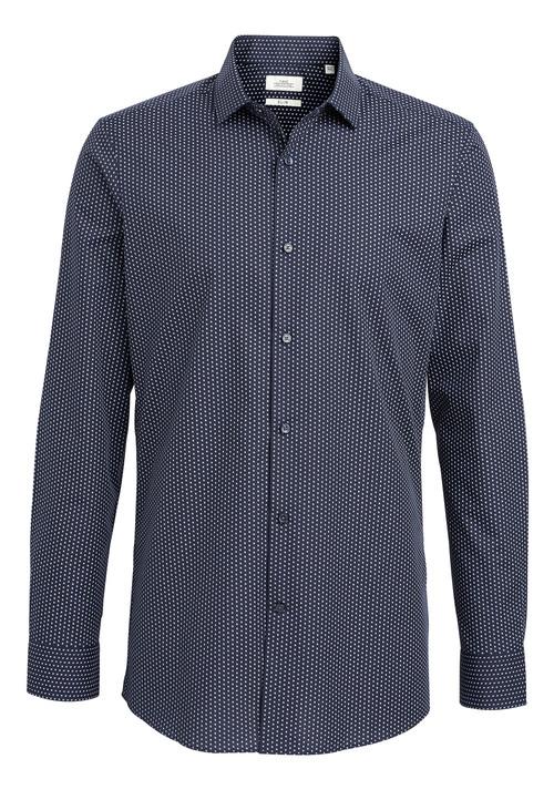 Next Textured And Print Shirts Three Pack- Slim Fit Single Cuff