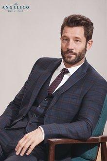 Next Signature Check Suit: Waistcoat