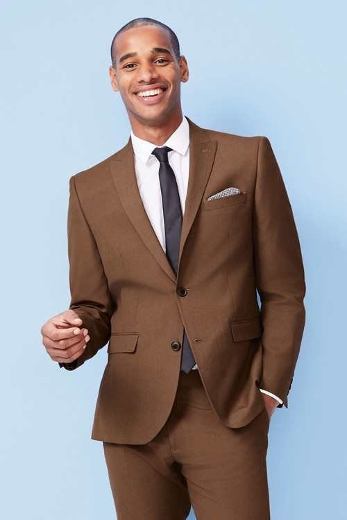 Next Two Button Suit: Jacket- Slim Fit