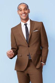 Next Two Button Suit: Jacket- Slim Fit