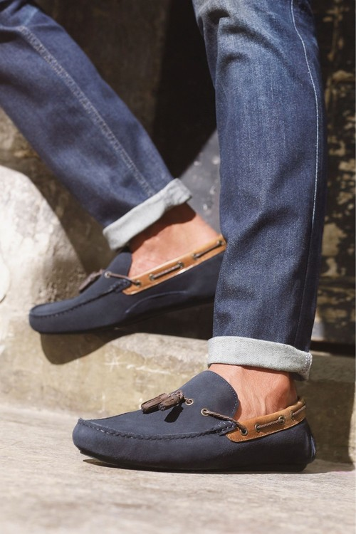 Next Tassel Driving Shoe