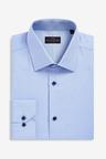 Next Signature Regular Fit Single Cuff Contrast Trim Shirt