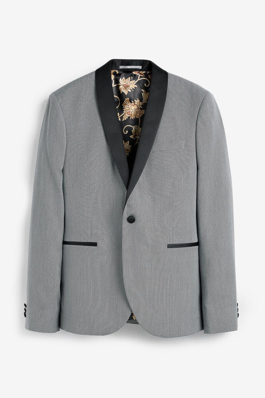 best service promo code dependable performance Next Textured Tuxedo Suit: Jacket