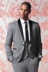 Next Textured Tuxedo Suit: Jacket