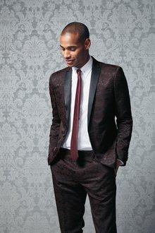 Next Jacquard Tuxedo Suit: Jacket