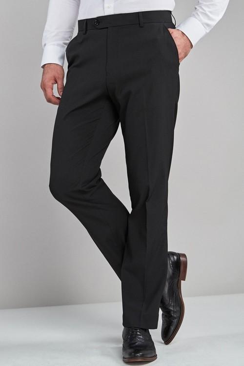 Next Stretch Plain Front Trousers