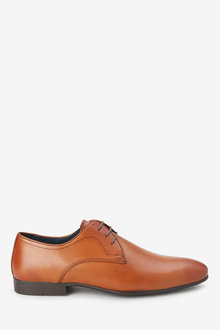 Next Plain Derby Shoe- Wide - 239968