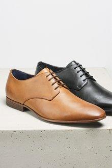 Next Textured Derby Shoe