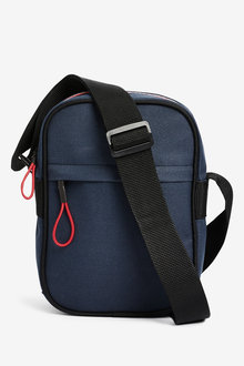 Next Contrast Zip Cross Body Bag