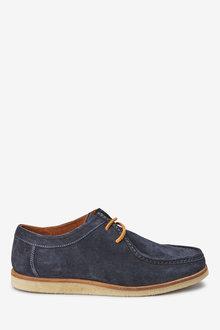 Next Apron Derby Shoe - 240063