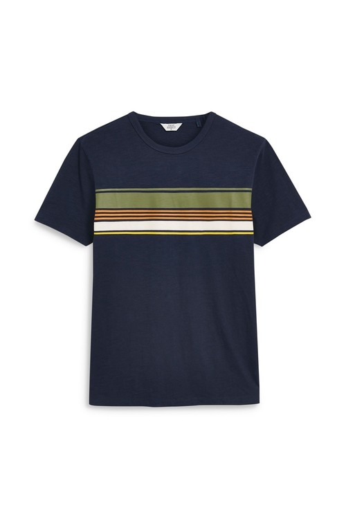 Next Chest Stripe T-Shirt