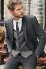 Next Textured Suit: Jacket- Skinny Fit