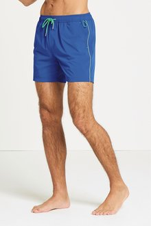 Next Piped Stretch Swim Shorts