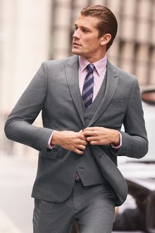 Next Check Suit: Jacket- Super Skinny Fit
