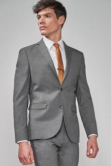 Next Stretch Marl Suit: Jacket- Slim Fit