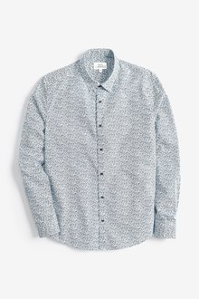 Next Long Sleeve Printed Shirt