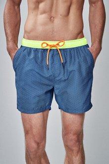 Next Geo Print Swim Shorts