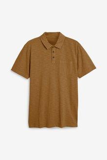Next Garment Dyed Polo